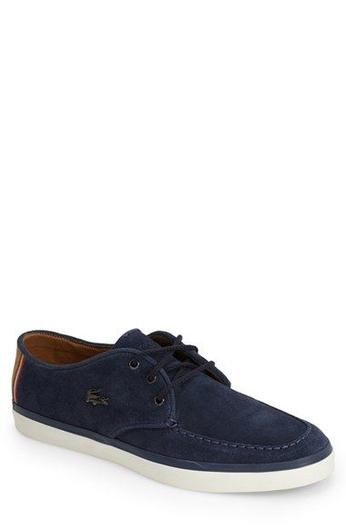 1012422e7bed93 Lacoste  Sevrin 7  Suede Sneaker (Men) available at  Nordstrom ...