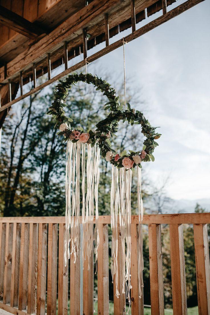 Rustikale Inspirationen für die Boho Hochzeit #hochzeitsdeko