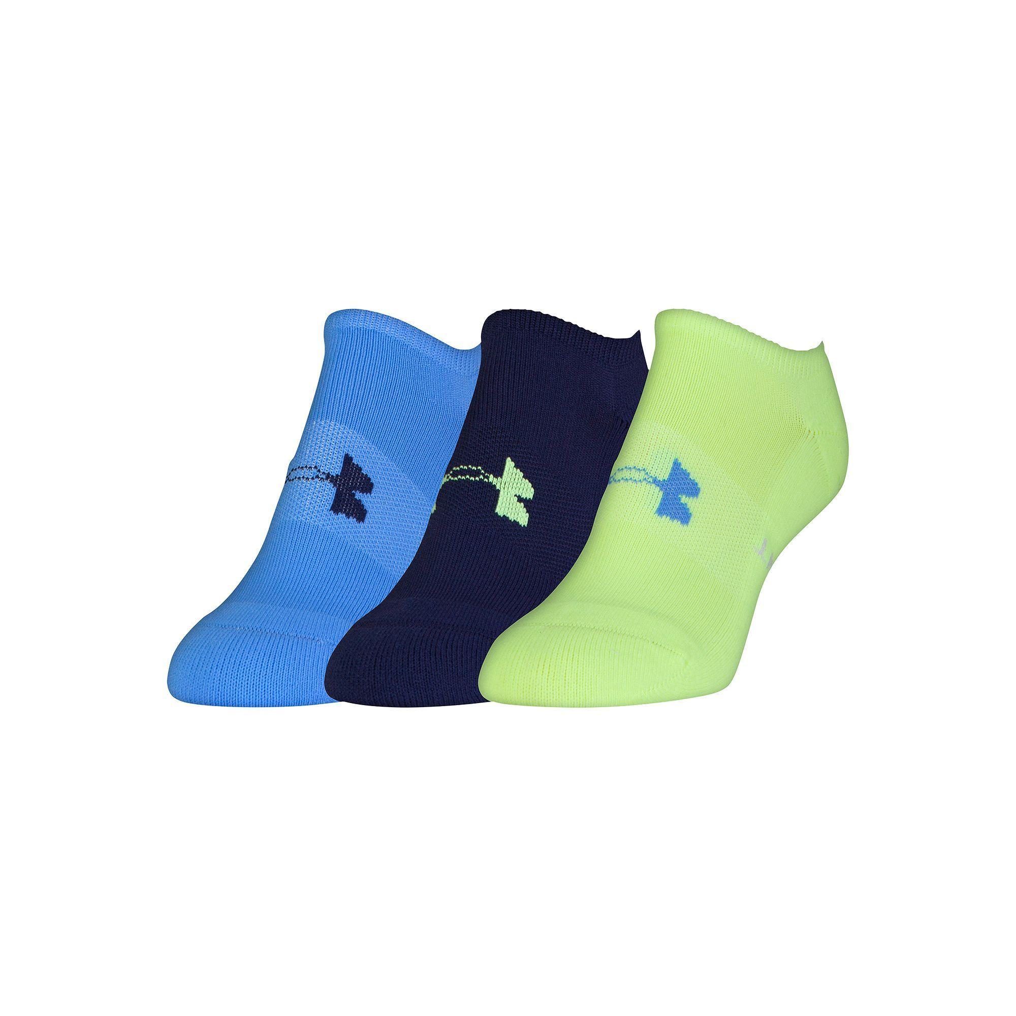 8b5423fc3 Women's Under Armour 3-pk. Athletic Solo Low-Cut Socks, Size: Medium, Ovrfl  Oth