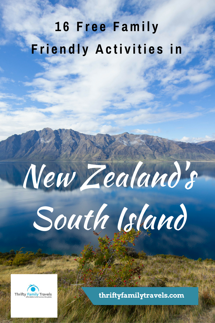 The South Island of New Zealand