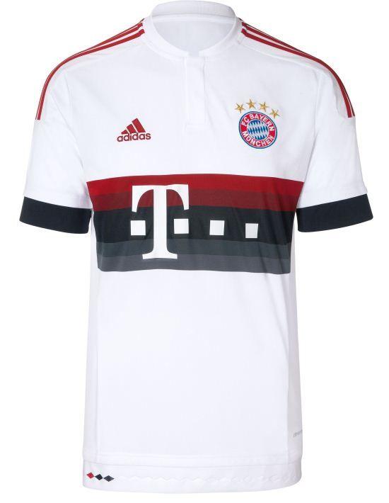 Bayern Munich Away 2015 - 2016 #adidas | Classic shirts | Pinterest ...
