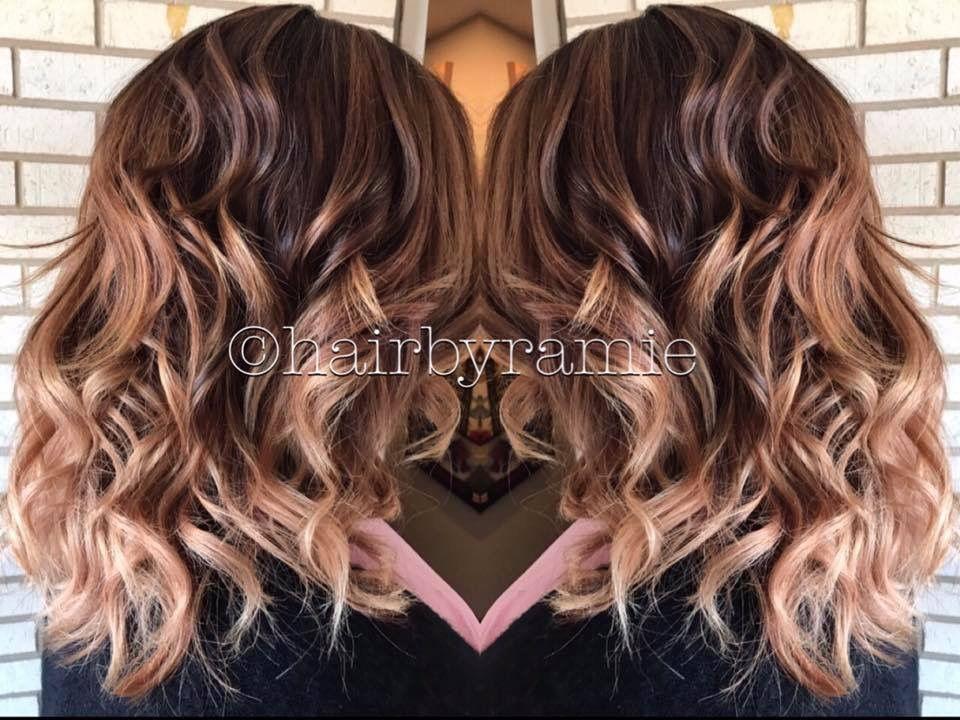 #hairbyramie Hair, highlights, blonde, brunette, balayage ...