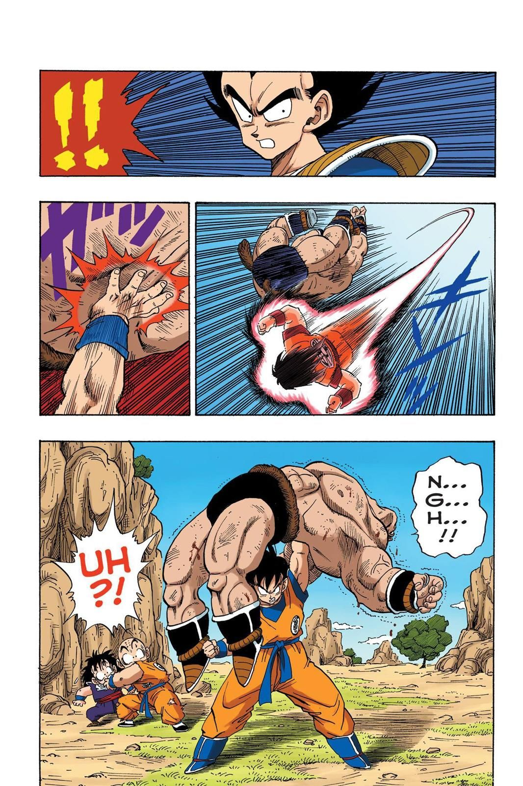 Color on online - Read Dragon Ball Full Color Saiyan Arc Chapter 32 Page 5 Online For Free