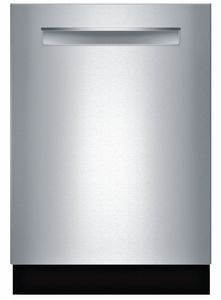 Bosch 500 Series dishwasher. I chose this one because it has a third rack feature and is rated very quiet. For the price, I thought it was unbeatable when compared to other high-end dishwashers with similar features that cost double the price. Time will tell if I made the right decision! This one was ordered online from US Appliance. Would highly recommend them. Best price --best service.