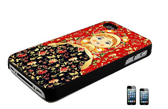Matryoshka Style Russia Doll iPhone 4 4s 5 5c by UpscaleWireless, $11.00