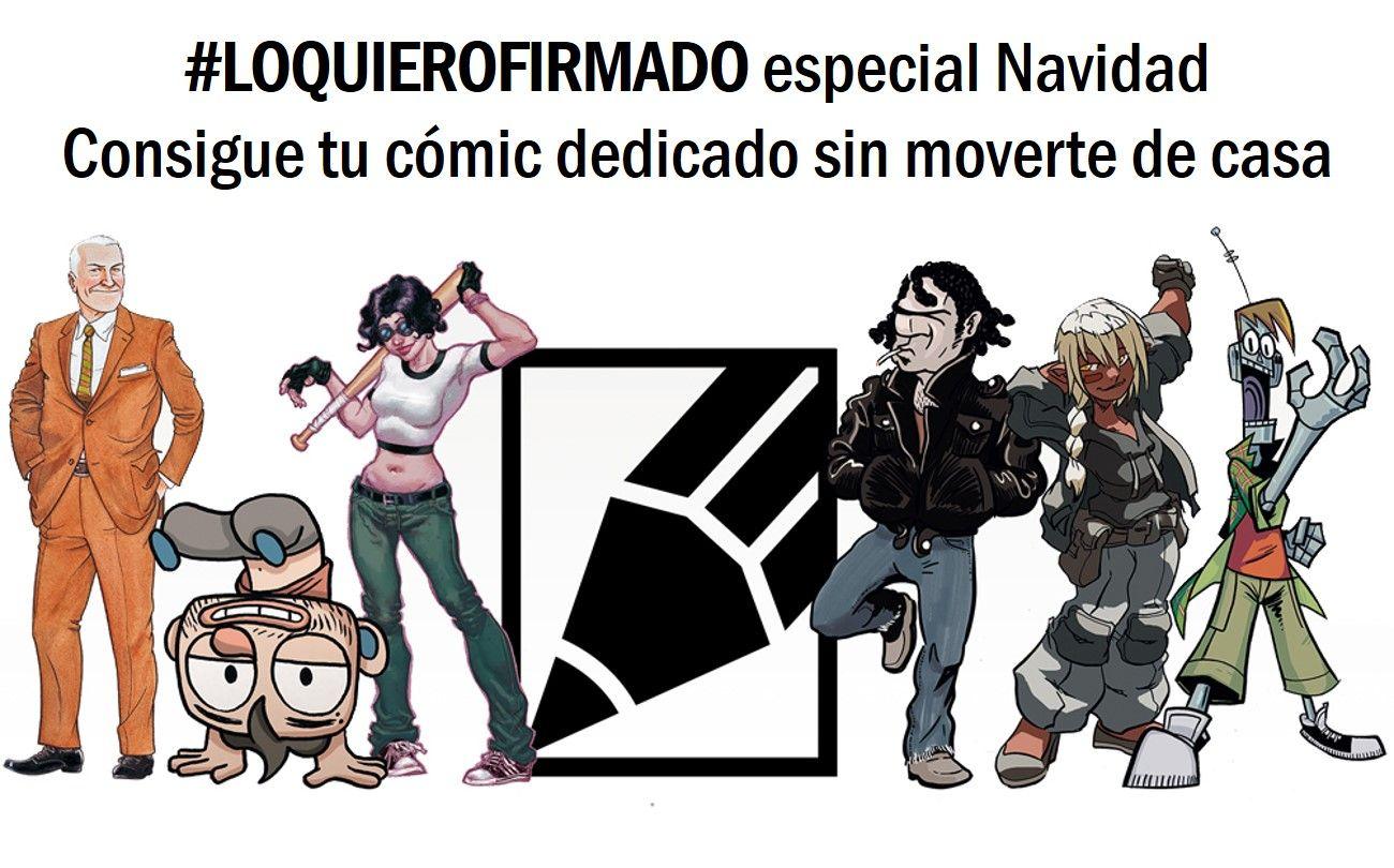 3 autores 4 cómics Y todos pueden ser tuyos firmados y ...