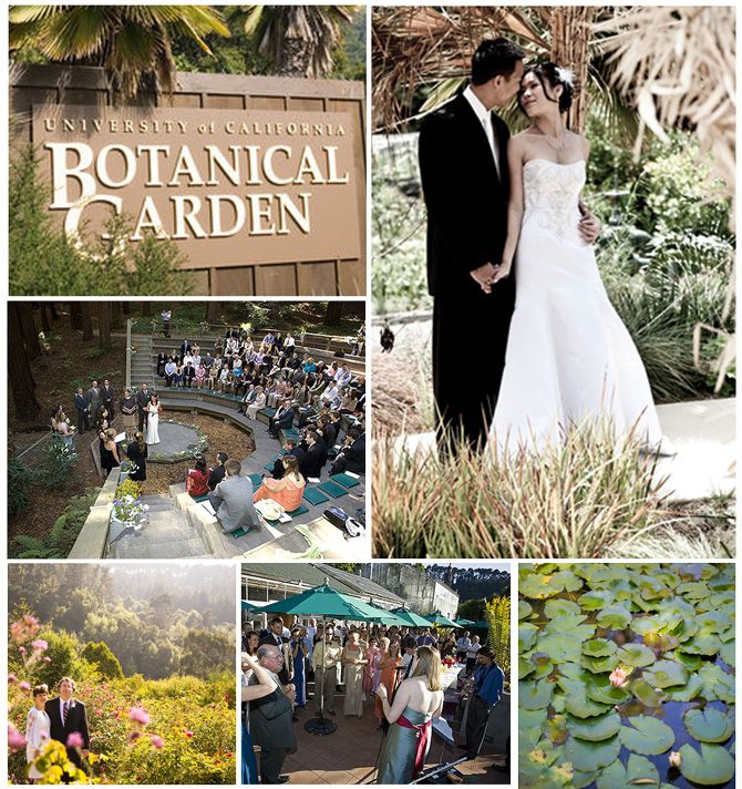 The Uc Botanical Garden In Berkeley California Offers Several Lovely Venues For Weddings And Receptions