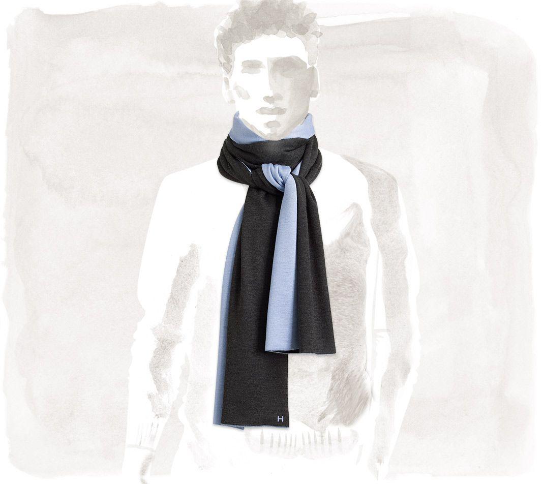 prezzo favorevole designer nuovo e usato prezzo incredibile Tie-free Hermès Aller Retour - Scarves - Men   Hermès ...