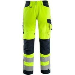 Photo of Pantaloni Mascot® unisex ad alta visibilità Kendal giallo taglia 24