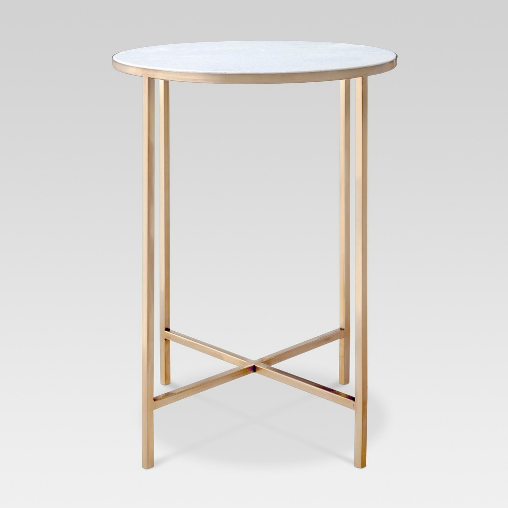 Marlton End Table Gold - Threshold In 2019
