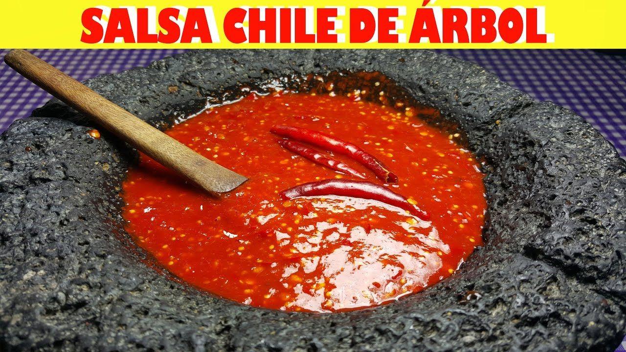 how to make salsa with chile de arbol