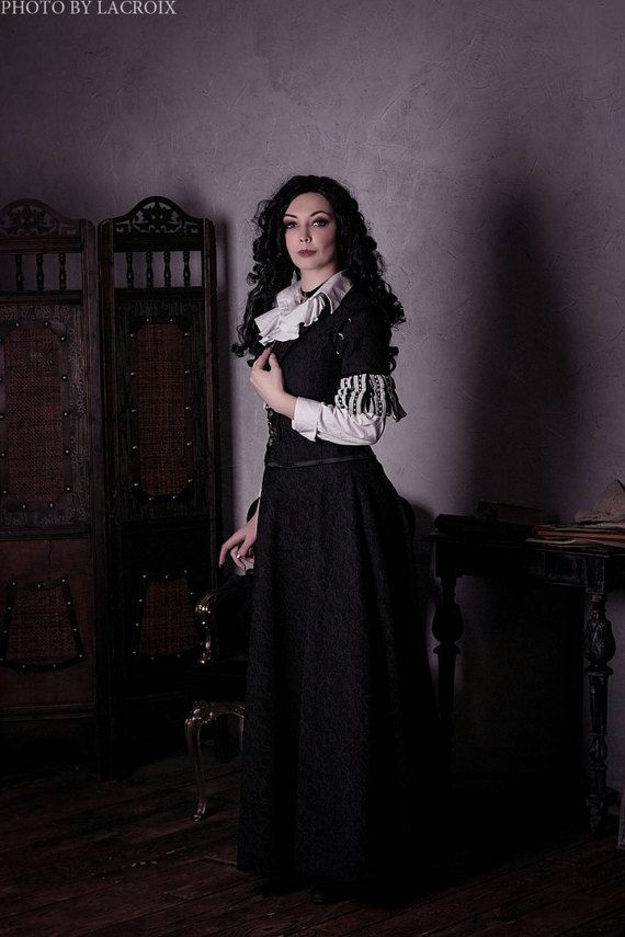 Yennefer cosplay costume fantasy dress Witcher  #yennefer #witcher #cosplay #yenneferdress #fantasy #dressartmystery