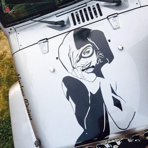 Harley quinn vinyl decal