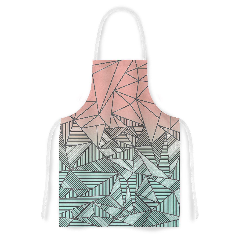 "Fimbis ""Bodhi Rays"" Geometric Illustration Artistic Apron | KESS InHouse"