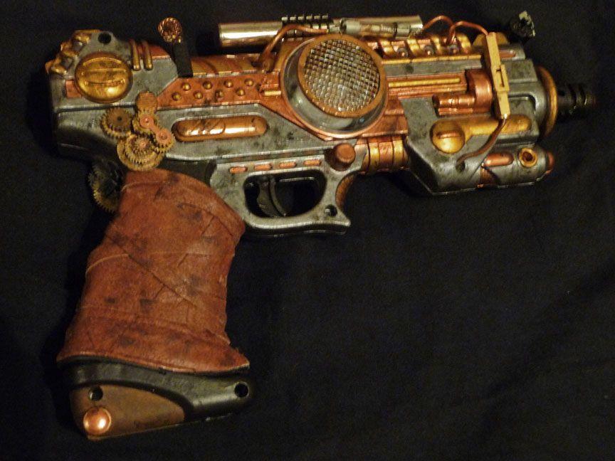 Pin On Steampunk Ray Guns
