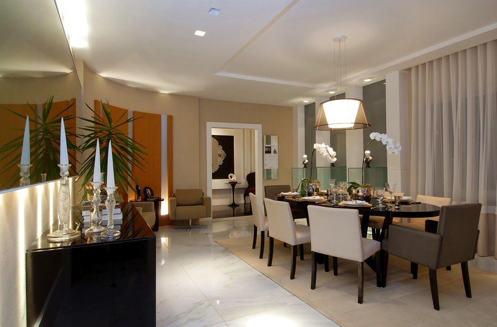Decoracao De Sala Da Jantar ~   Salas de jantar50 modelos maravilhosos e dicas de como decorar