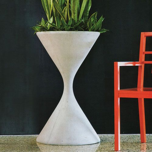 Hourgl Spindel Planter Mid Century Modern Pots And Planters Stardust