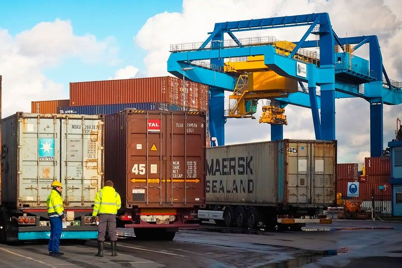 Características Principales De Los Cuatro Tipos De Transporte De Mercancías Logistics Marketing Techniques Logistics Industry