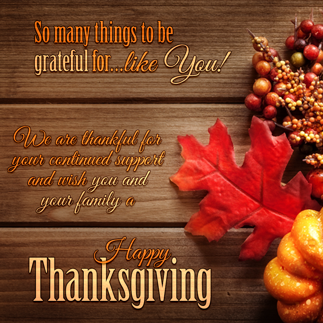 Happy Thanksgiving From Your Carson Dellosa Family And