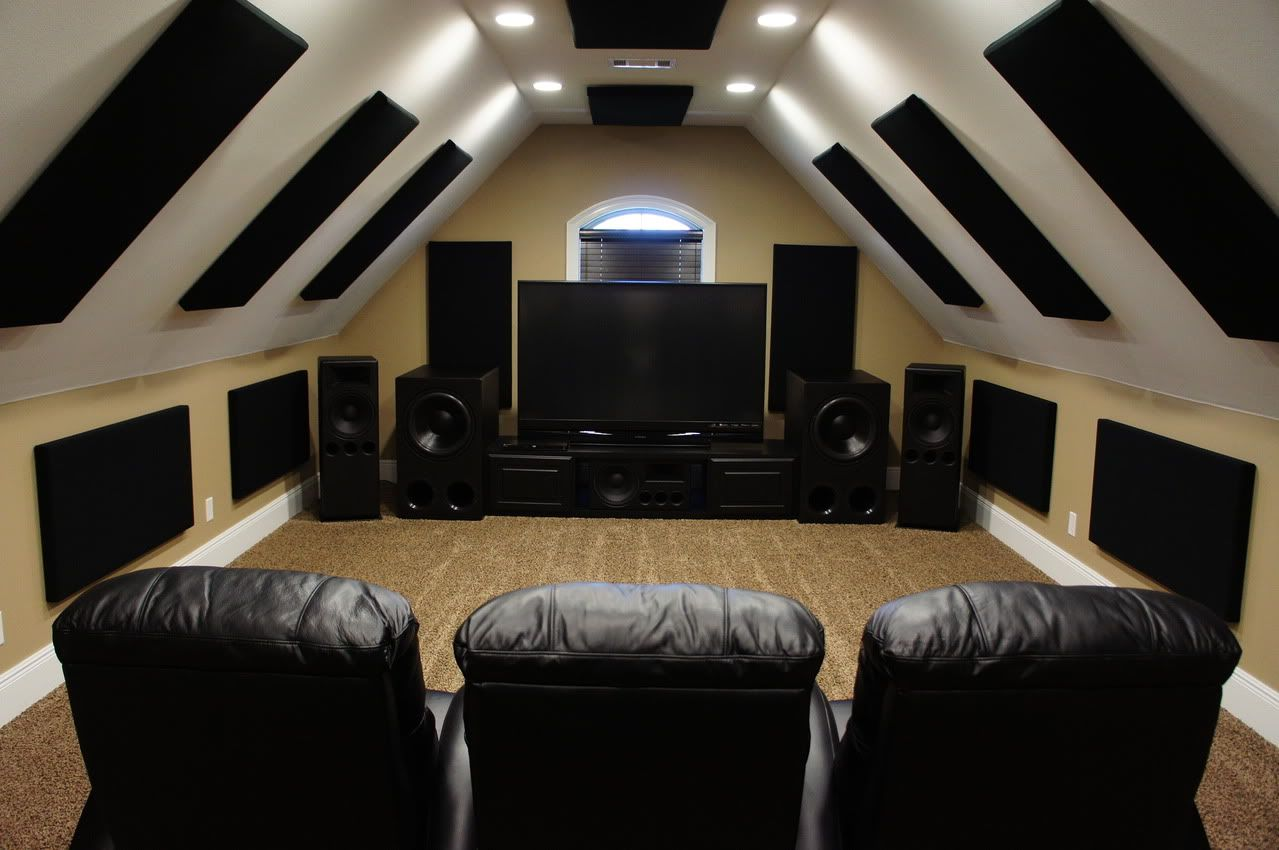 Man Cave Cinema Room : Nezff s media ht room the perfect man cave projects to