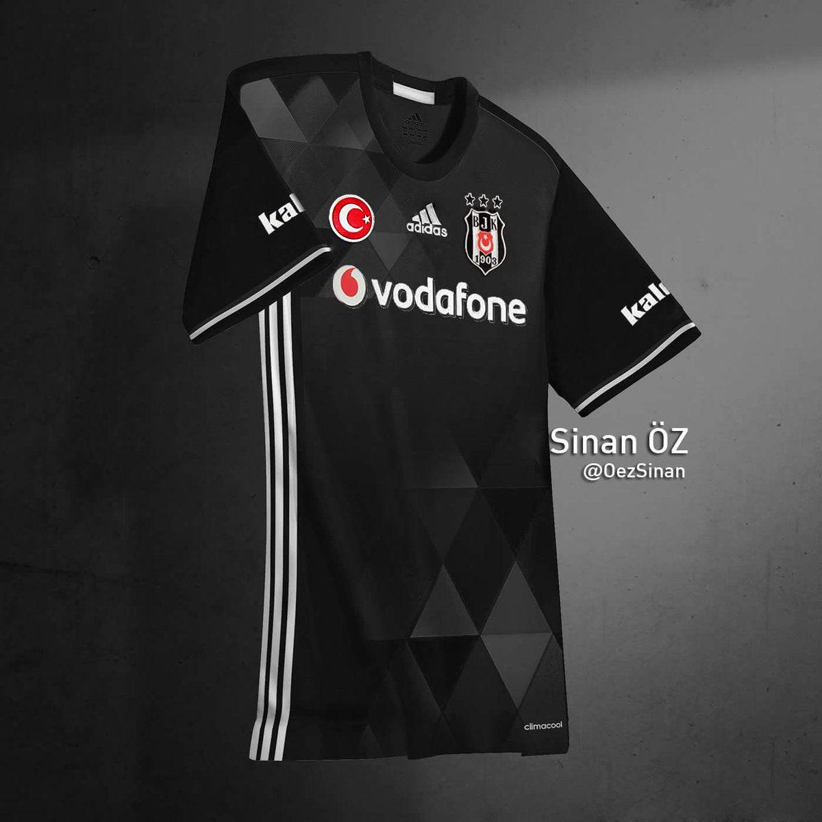 0bd603107a Besiktas JK 2017/2018 Jersey design Camisas Futebol, Equipamentos De  Futebol, Camisetas De