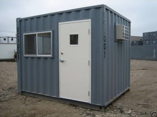 10 By 8 Guard Booth Office Container Great Condition Konteyner Evler
