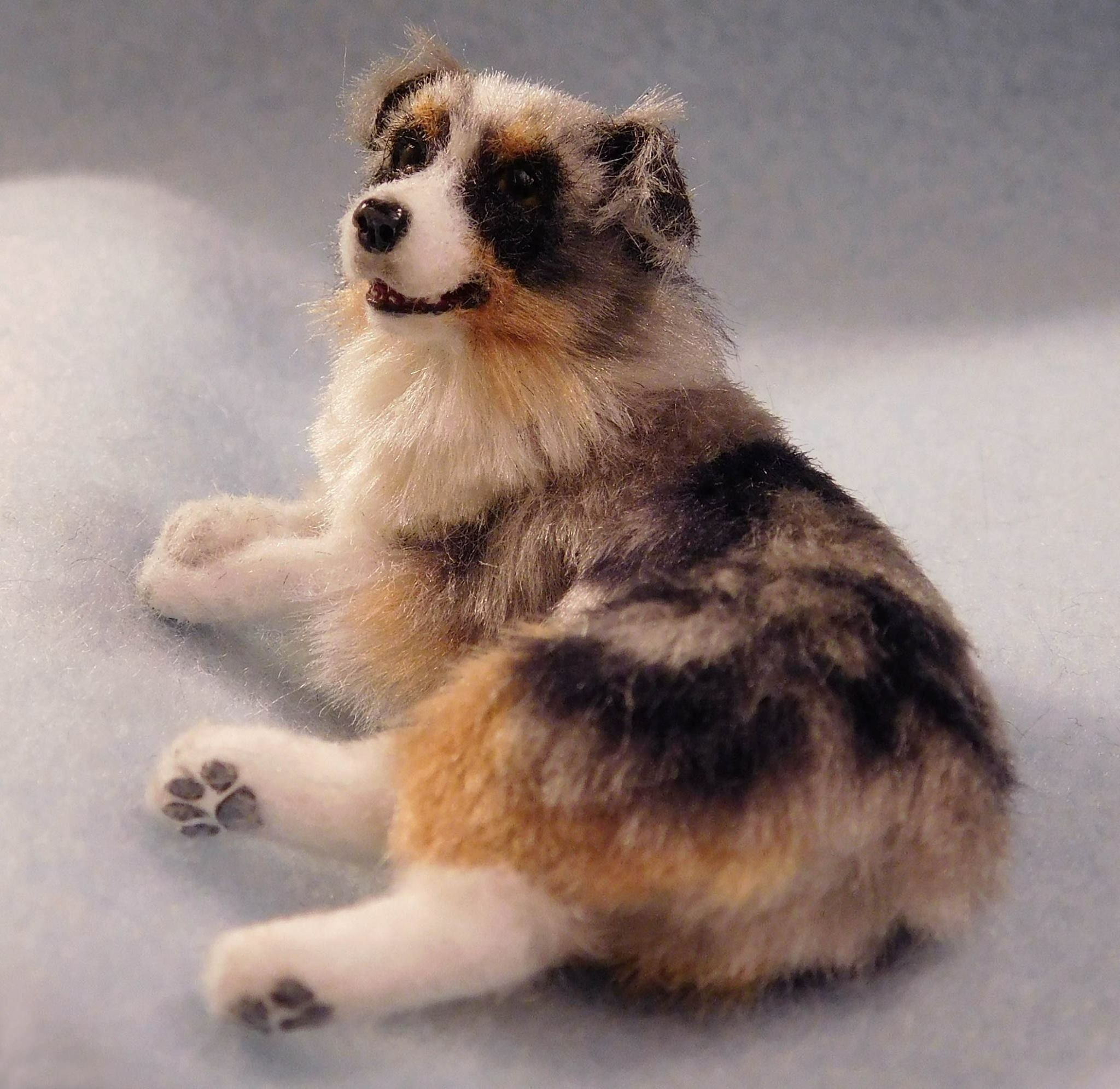 Camille Turner Felt Dogs Needle Felted Dog Felt Animals