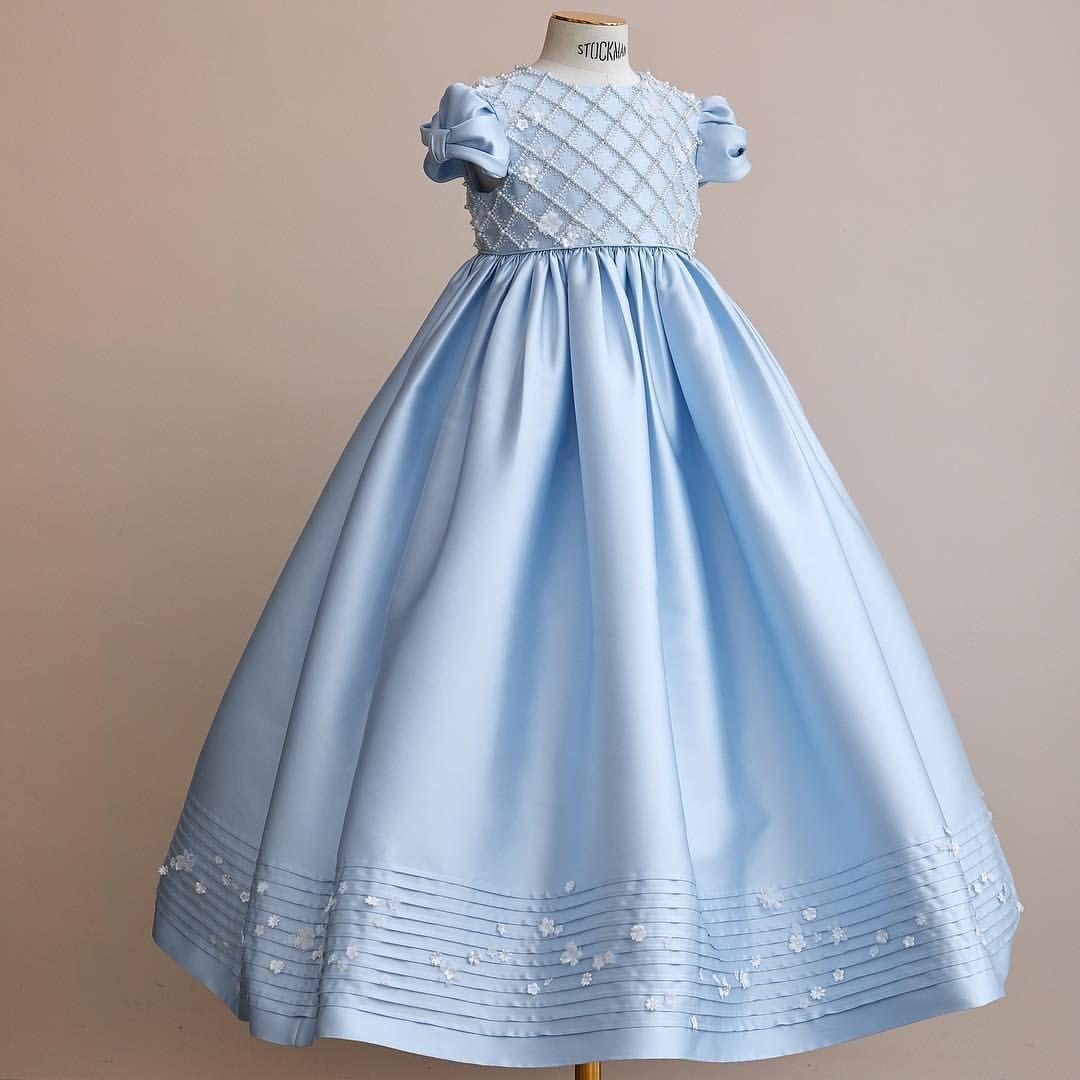 Silk mikado dress by bibiona couture выпускной в детском саду