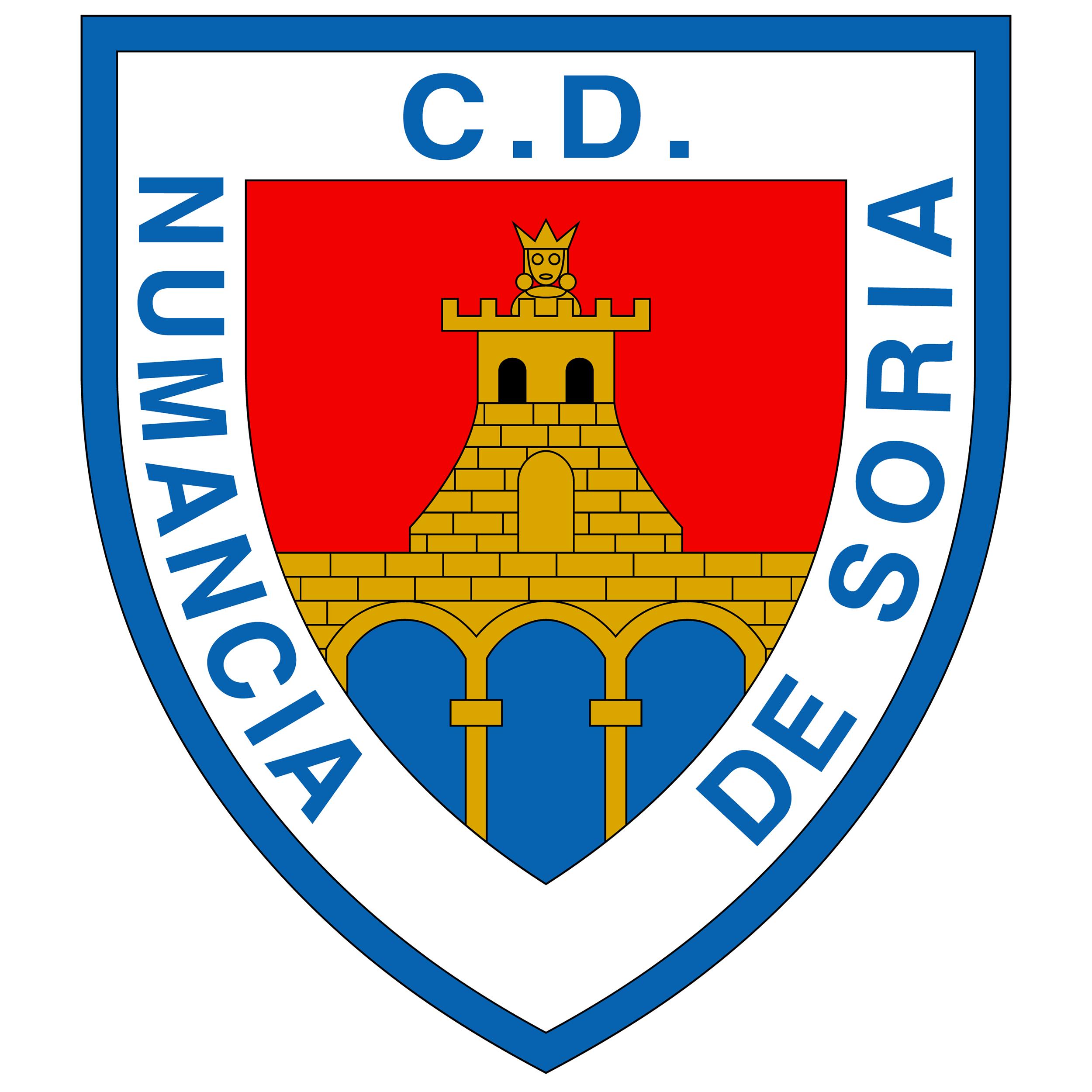 Club Deportivo Numancia Soria Esp Espanha Futebol Escudos De Futebol Futebol Espanhol
