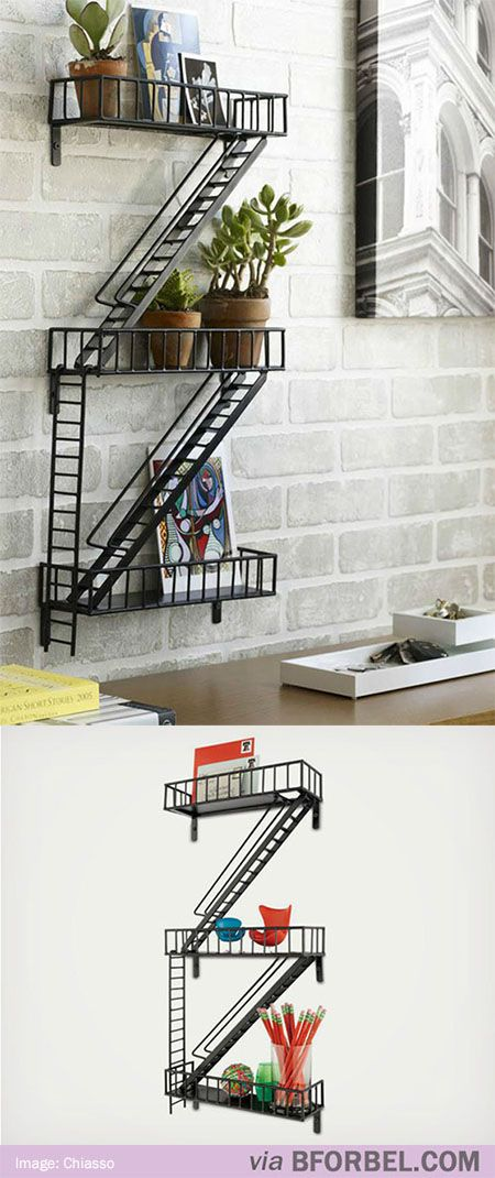 Best B For Bel Mini Fire Escape Shelf 98 Fire Escape Shelf 400 x 300