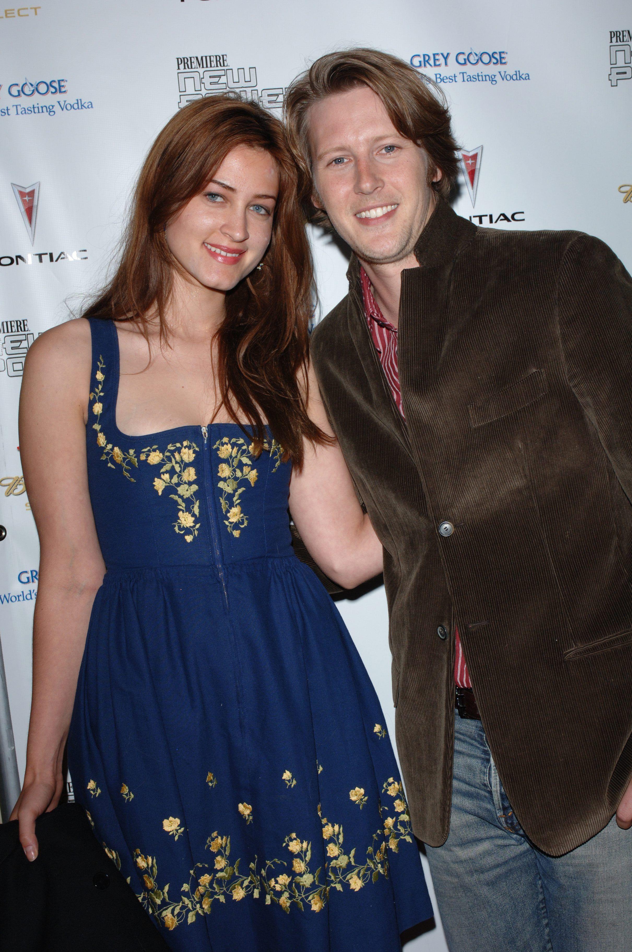 Photo of Gabriel Mann  & his  Sister  Alexandra Mann