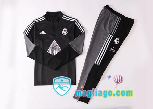 Tuta da Allenamento Real Madrid Adidas X Human Race Nero 2020/2021 ...