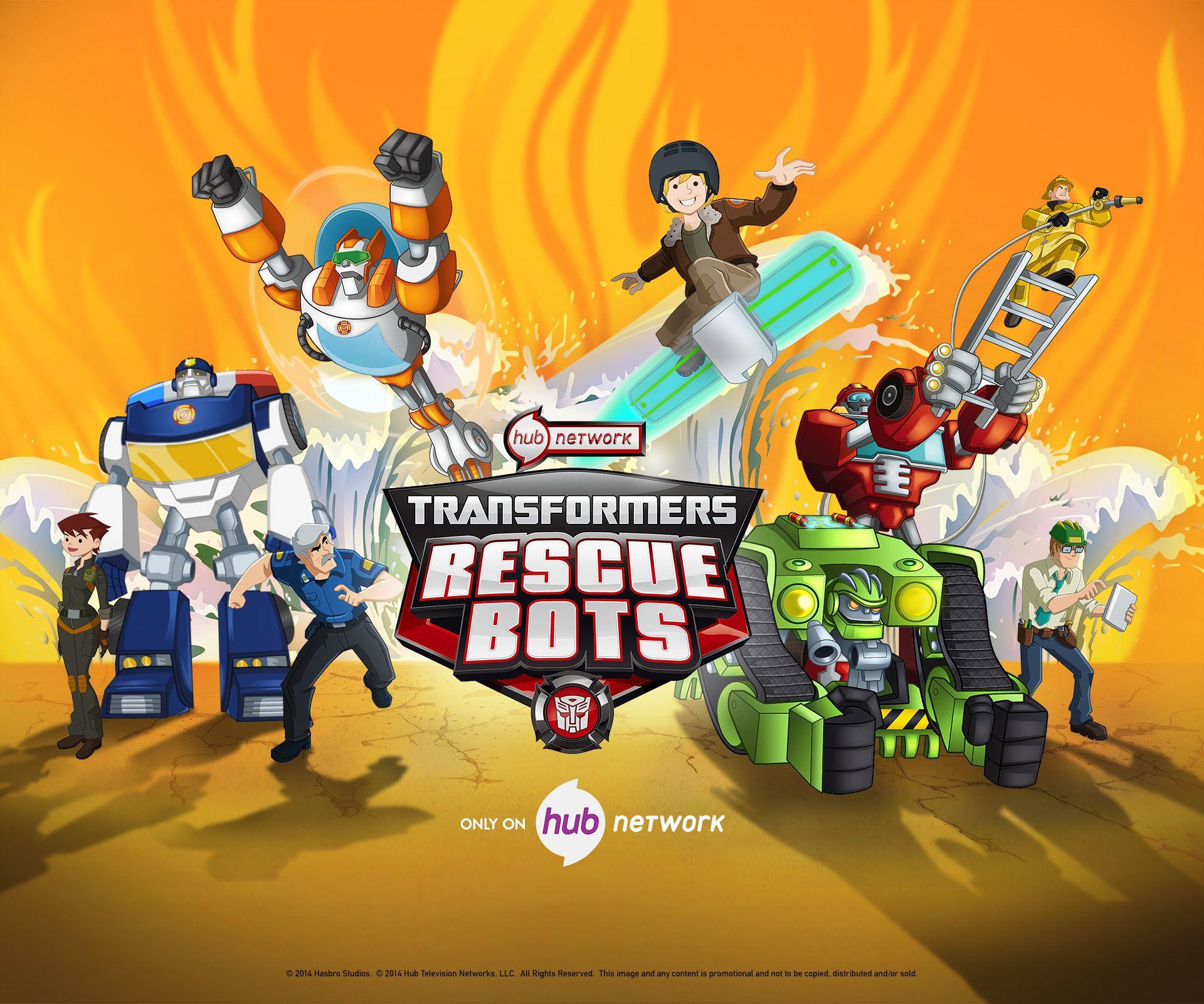 Transformers Rescue Bots Wallpaper
