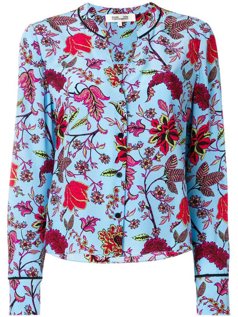 765c8d53e9dea DVF DIANE VON FURSTENBERG . #dvfdianevonfurstenberg #cloth # Floral Print  Shirt, Floral Prints