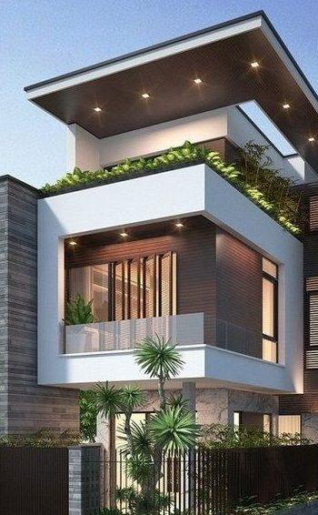 9 Best Exterior House Designs 2019 Modern Exterior House Designs House Designs Exterior Narrow House Designs