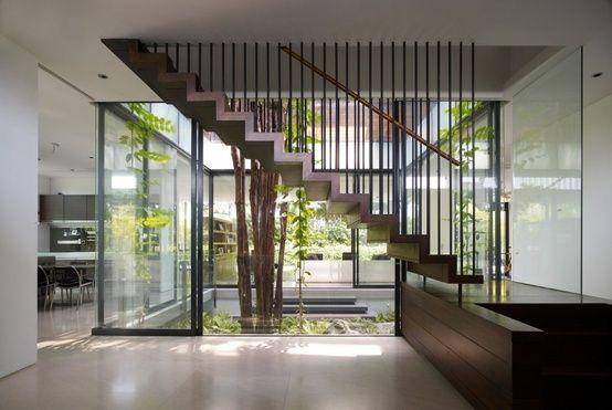 Internal courtyards google search courtyard for Internal courtyard house designs