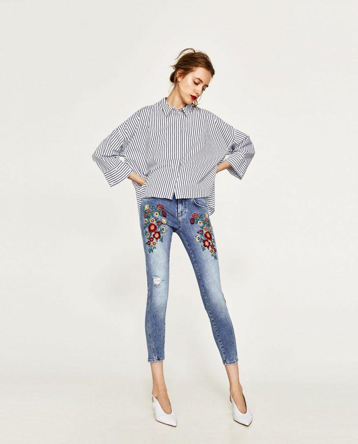Zara Bayan Dar Kesim Kot Pantolon Modelleri 2017 2018 Zara Moda Kotlar