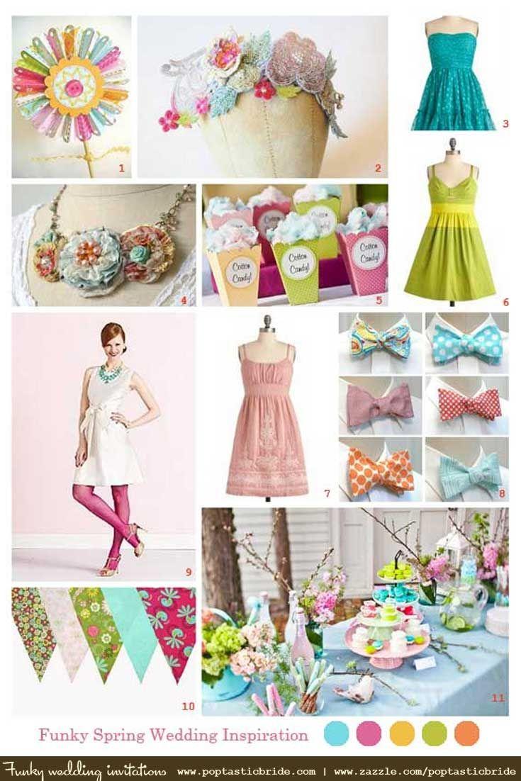 spring wedding inspiration | spring wedding colors | spring wedding ...