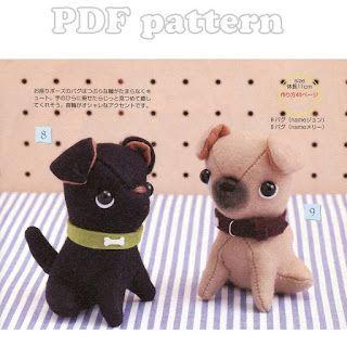 French Bulldog Puppy Plush Pattern Pdf Craftyline E Pattern Shop