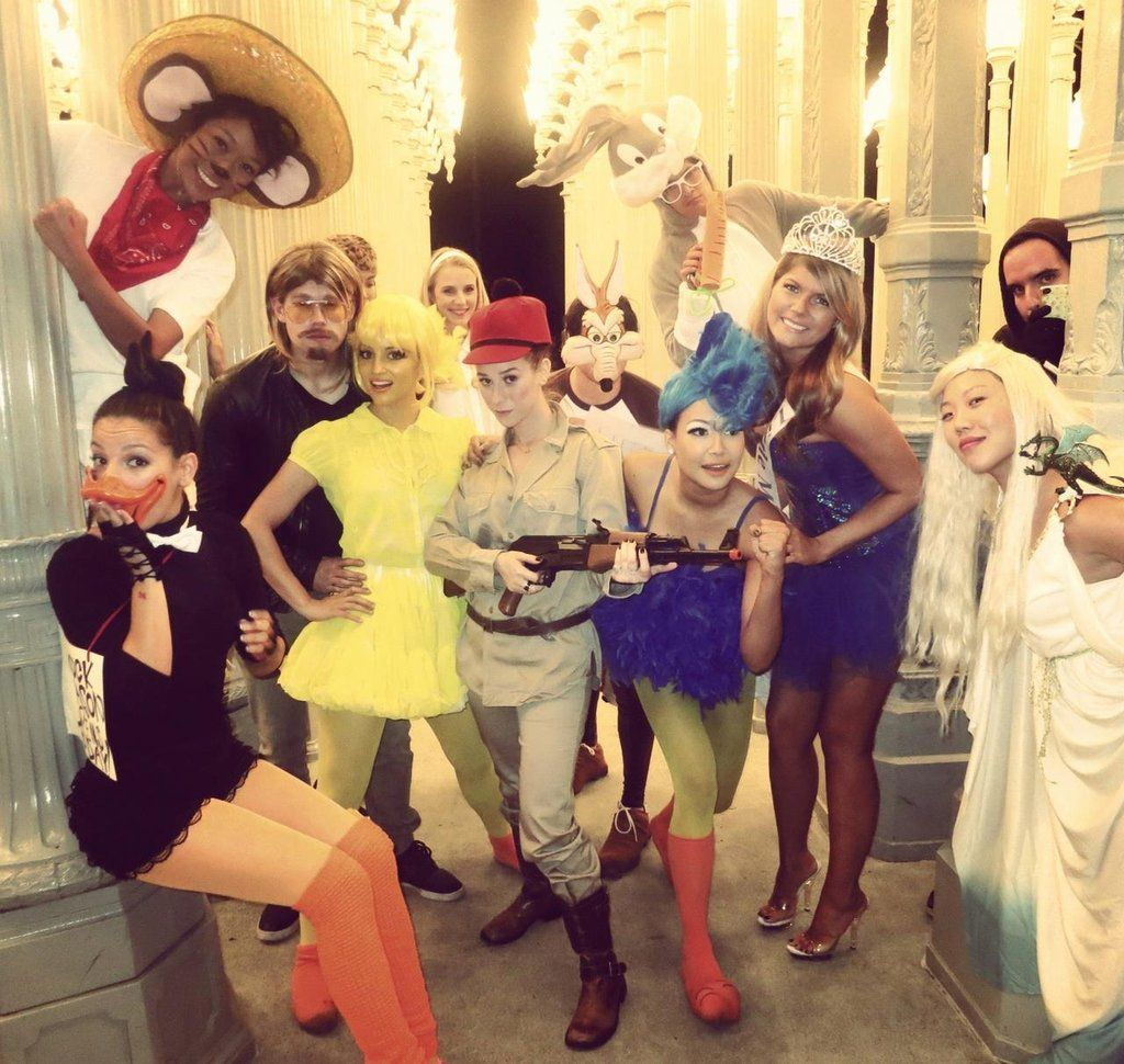 ghouls gone wild 60 creative girlfriend group costumes - Wild Halloween Party