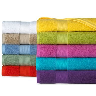 Jcp Home Solid Bath Towels Jcpenney Color Bright White Size