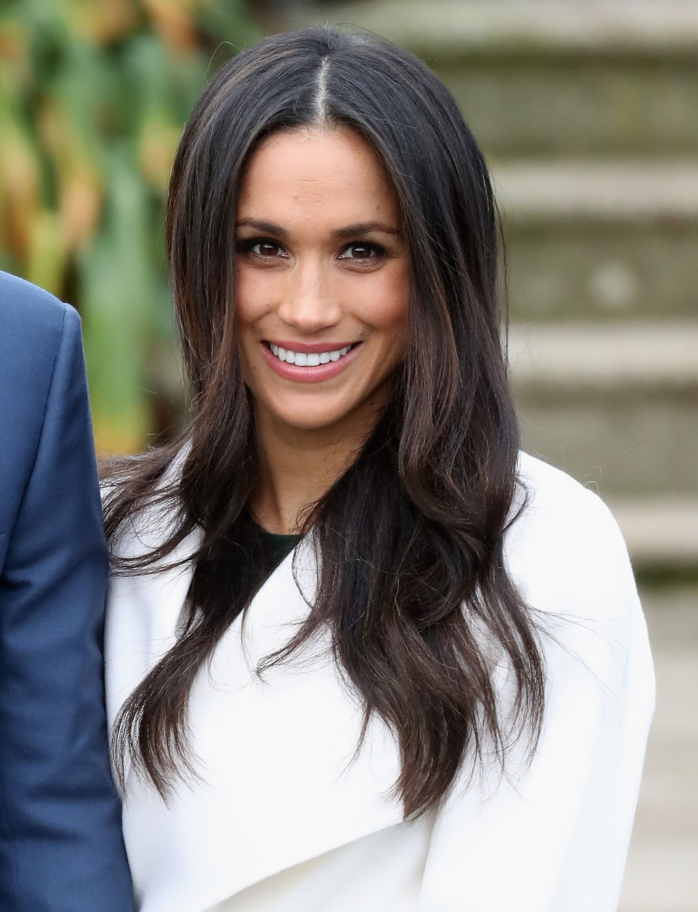 Meghan Markle Just Broke Another Royal Hair Rule Today Lowsidebuns Markle With Low Side Bun Lowsideb Effortless Hairstyles Short Hair Updo Meghan Markle Hair
