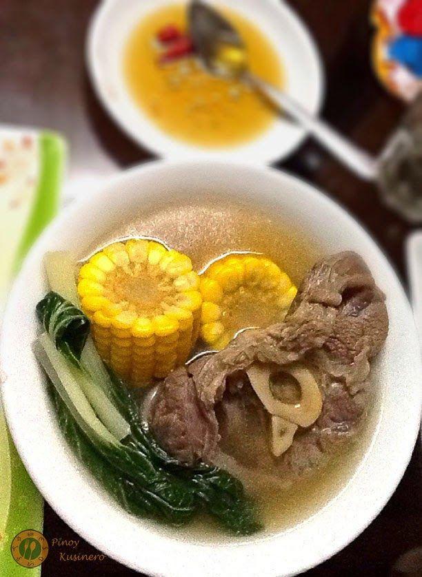 Bulalo (Filipino Beef Shank Soup). DELICIOUS! I think I ...