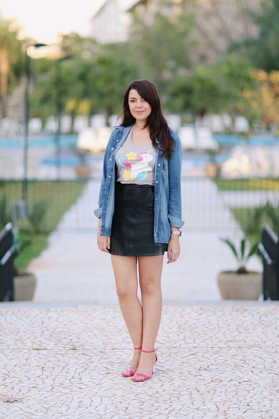 c1283f18a Look do dia: Camiseta de unicórnio | Pinterest | Primavera, Verão e ...