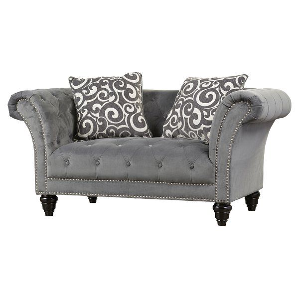You'll love the Hendrix Chesterfield Loveseat at Wayfair - Great Deals on all Furniture products with Free Shipping on most stuff, even the big stuff.