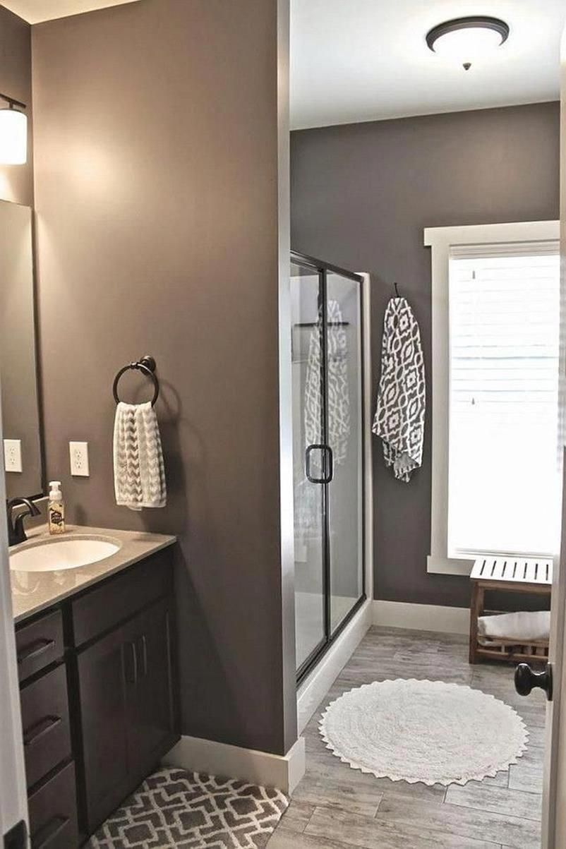 How To Clean A Bathroom Small Bathroom Colors Guest Bathroom