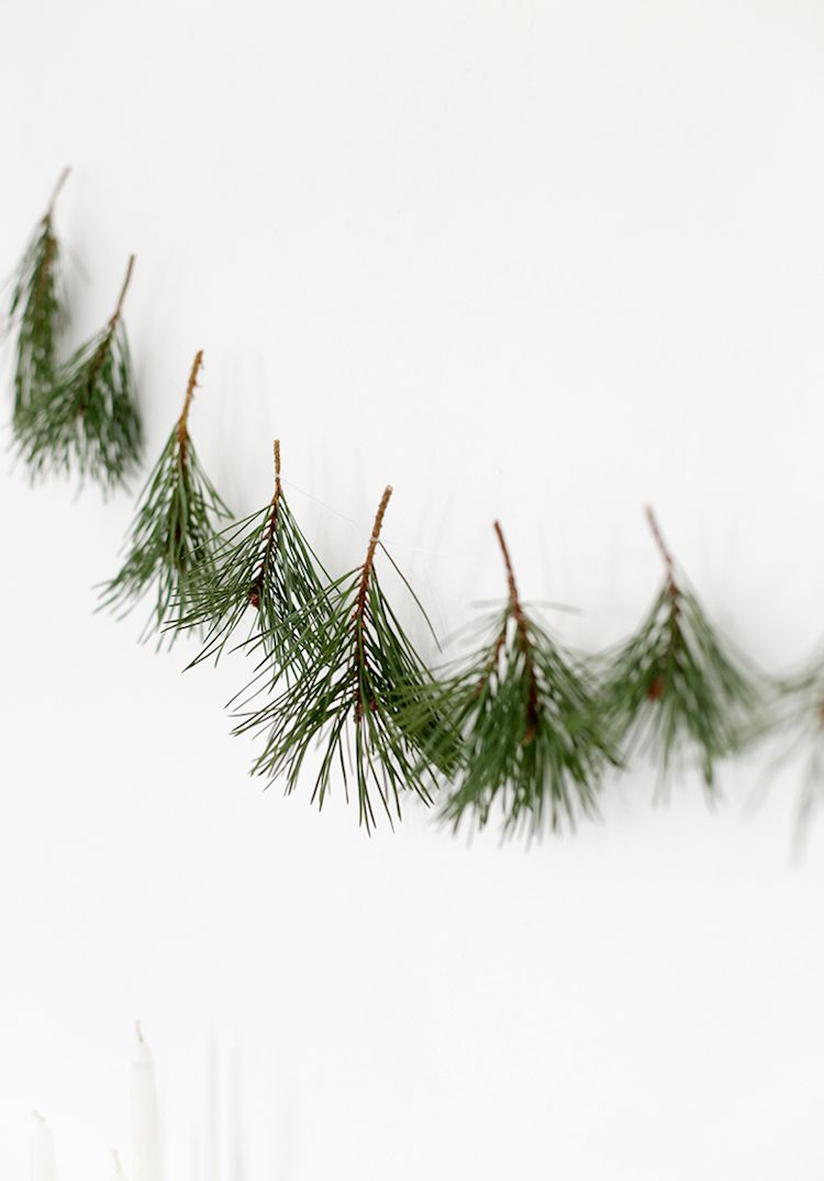 10 Simple DIY Christmas Decorations Made From Nature! #julepyntinspiration