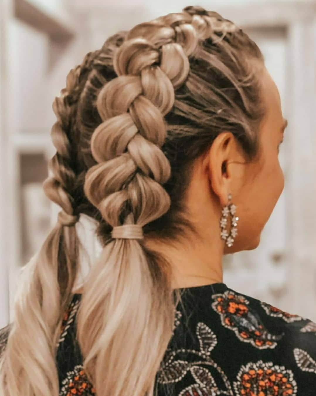 Bubble Braid Hairstyles Looks Perfect With Any Outfits   Perfect ...
