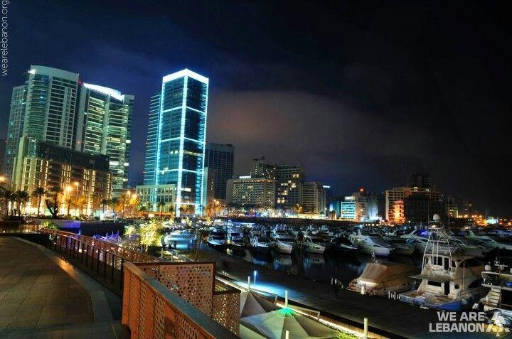 Zaitunay Bay زيتونة باي By Ziad Chaccour New York Skyline Skyline Beirut Lebanon