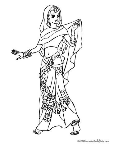Princesses Of The World Coloring Pages Indian Princess Princess Coloring Pages Princess Coloring Indian Princess